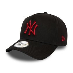 New Era 9FORTY New York Yankees Essential Black A Frame - 12134885