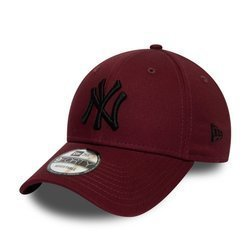New Era 9FORTY New York Yankees Essential Maroon Strapback - 12134894