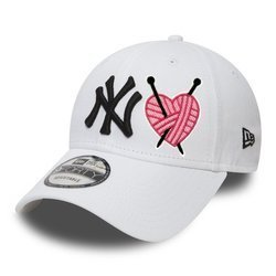 New Era 9FORTY New York Yankees Strapback - Custom Soft Heart - 10745455