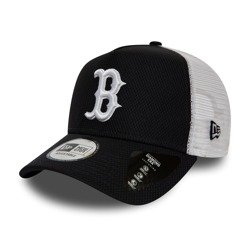 New Era Boston Red Sox Diamond Era Navy A Frame Trucker - 12040559