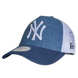 New Era MLB New York Yankees Clean A Frame Trucker Cap