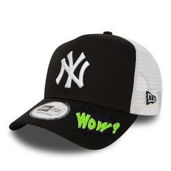 New Era MLB New York Yankees Clean A Frame Trucker Cap Trucker Custom WOW - 11588491