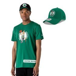 New Era NBA Boston Celtics T-shirt + Strapback