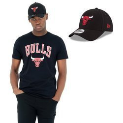 New Era NBA Chicago Bulls T-shirt + Strapback
