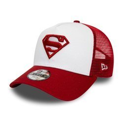 New Era Superman Kids White A-Frame Trucker Cap - 12040464