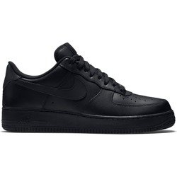 Nike Air Force 1 Low All Black Shoes - 315122-001