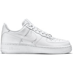 Nike Wmns Air Force 1 Low All White Shoes - 315115-112