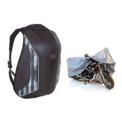Ogio Mach 5 No Drag Spec Ops Backpack + Motorcycle Cover