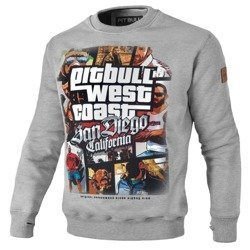 Pit Bull Crewneck Most Wanted Grey Sweatshirt