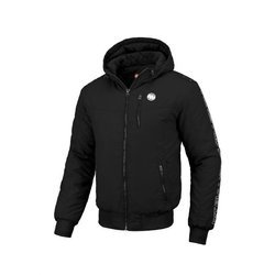 Pit Bull West Coast Hooded Jacket Cabrillo 2019 Black