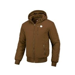Pit Bull West Coast Hooded Jacket Cabrillo 2019 Brown