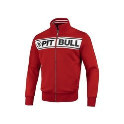 Pit Bull West Coast Oldschool Track Chest Logo Full Zip Sweat - 149301450