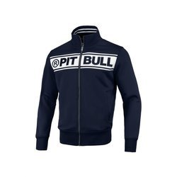 Pit Bull West Coast Oldschool Track Chest Logo Full Zip Sweat - 149301590