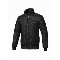 Pit Bull West Coast Quilted Jacket Sunset Black