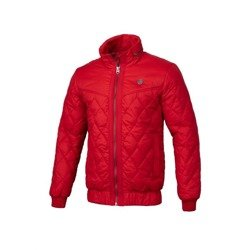 Pit Bull West Coast Quilted Jacket Sunset Red