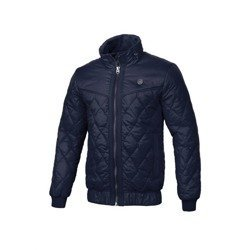 Pit Bull West Coast Quilted Winter Jacket Sunset Dark Navy