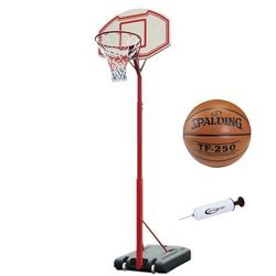 Portable basketball stand MASTER Attack 260 + Ball + Pump