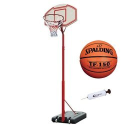 Portable basketball stand MASTER Attack 260 + Spalding TF-150 + pump