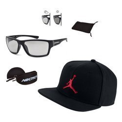 Set of sunglasses Arctica and Air Jordan baseball cap