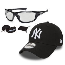 Set of sunglasses Arctica and New Era baseball cap
