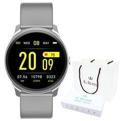 Smartwatch Gino Rossi SMS FB SW010-9 silver/gray