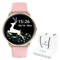 Smartwatch Gino Rossi SW015-2 R.Gold/Pink