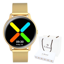 Smartwatch Gino Rossi SW015-5 gold/gold