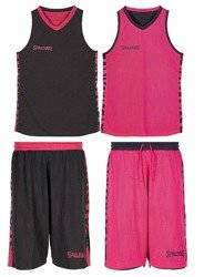 Spalding Essential Reversible Basketball Jersey + Spalding Essential Reversible Basketball Short