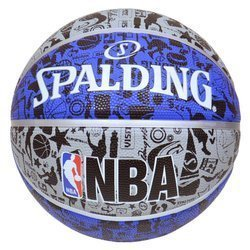 Spalding Graffiti Rubber Outdoor Basketball