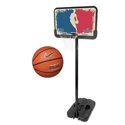 Spalding NBA Basketball Logoman Set Portable Basketball
