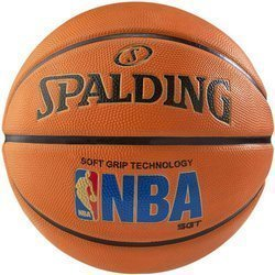 Spalding NBA Logoman Soft Grip Outdoor Basketball