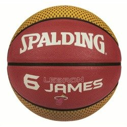 Spalding NBA Miami Heat Player LeBron James Basketball