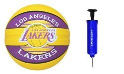 Spalding NBA Team Los Angeles Lakers Basketball + pump Axer