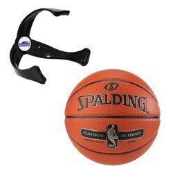 Spalding Platinum ZK Legacy Indoor + Ball claw