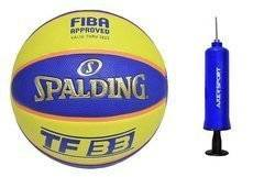 Spalding TF-33 Official game ball out Basketball + Axer Sport pump