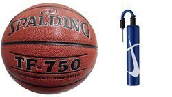 Spalding TF-750 Basketball  + pump Nike Essential