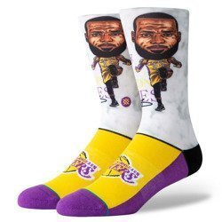 Stance NBA Lebron Big Head Socks - M548A19LEB