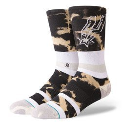 Stance NBA San Antonio Spurs Acid Wash Socks - M558C18SPU