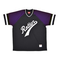 Supreme Rotten Baseball Top Black Jersey