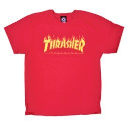 Thrasher Flame Logo red - 144817