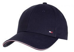 Tommy Hilfiger Elevated Signature Cap Navy - AM0AM06283-CJM