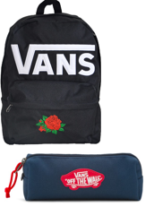 VANS Old Skool II Backpack Custom Red Rose - VN000ONIY28-813