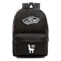 VANS Realm Backpack Custom White lama - VN0A3UI6BLK