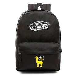 VANS Realm Backpack Custom Yellow lama - VN0A3UI6BLK