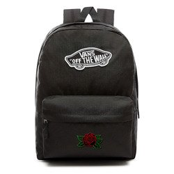 VANS Realm Backpack | VN0A3UI6BLK - Custom Dark Rose