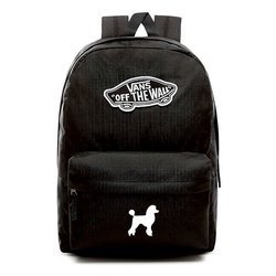 VANS Realm Backpack | VN0A3UI6BLK - Custom Poodle