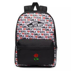 VANS Realm I Heart Backpack Custom Rose - VN0A3UI6VDA