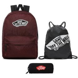 VANS Realm Port Royale Backpack + Benched Bag + Pencil Pouch