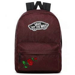 VANS Realm Port Royale Backpack Custom Roses - VN0A3UI64QU1