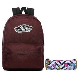 VANS Realm Port Royale Backpack - VN0A3UI64QU1 + Pencil Pouch